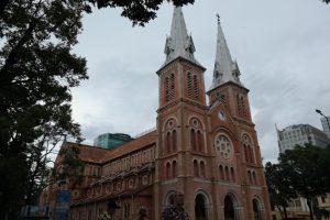 Ho Chi Minh - katedra Notre Dame