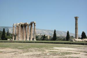 Ateny, Świątynia Zeusa Olimpijskiego