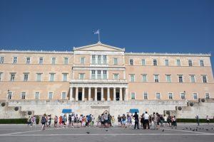 Ateny, budynek Parlamentu