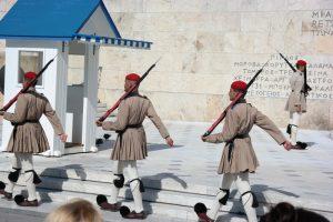Ateny, zmiana warty