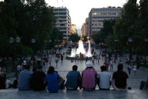 Ateny, plac Syntagma