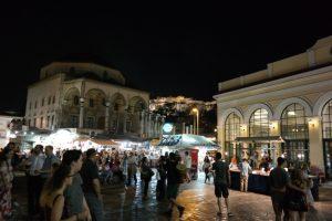 Ateny, plac Monastiraki