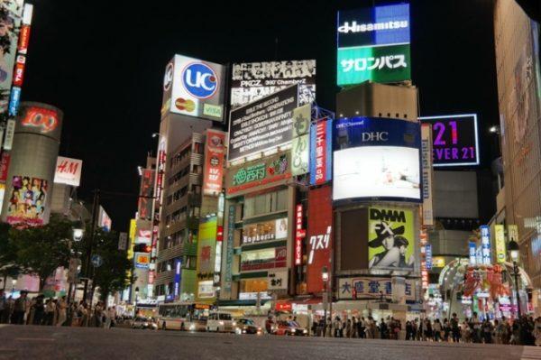 Tokio, Shibuya Crossing