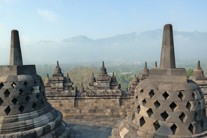 Indonezja, Borobudur